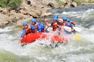 Rafting Brown's Canyon 2011